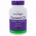 Natrol Flaxseed Oil 90 капсул