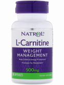 Natrol L-Carnitine 500mg. 30caps.