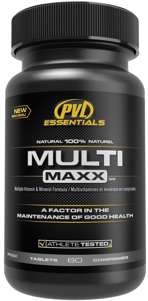 PVL essentials MULTI  MAXX 60 таблеток