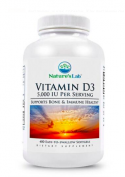 Nature`s Labs Vitamin D3 5000IU 400 капсул