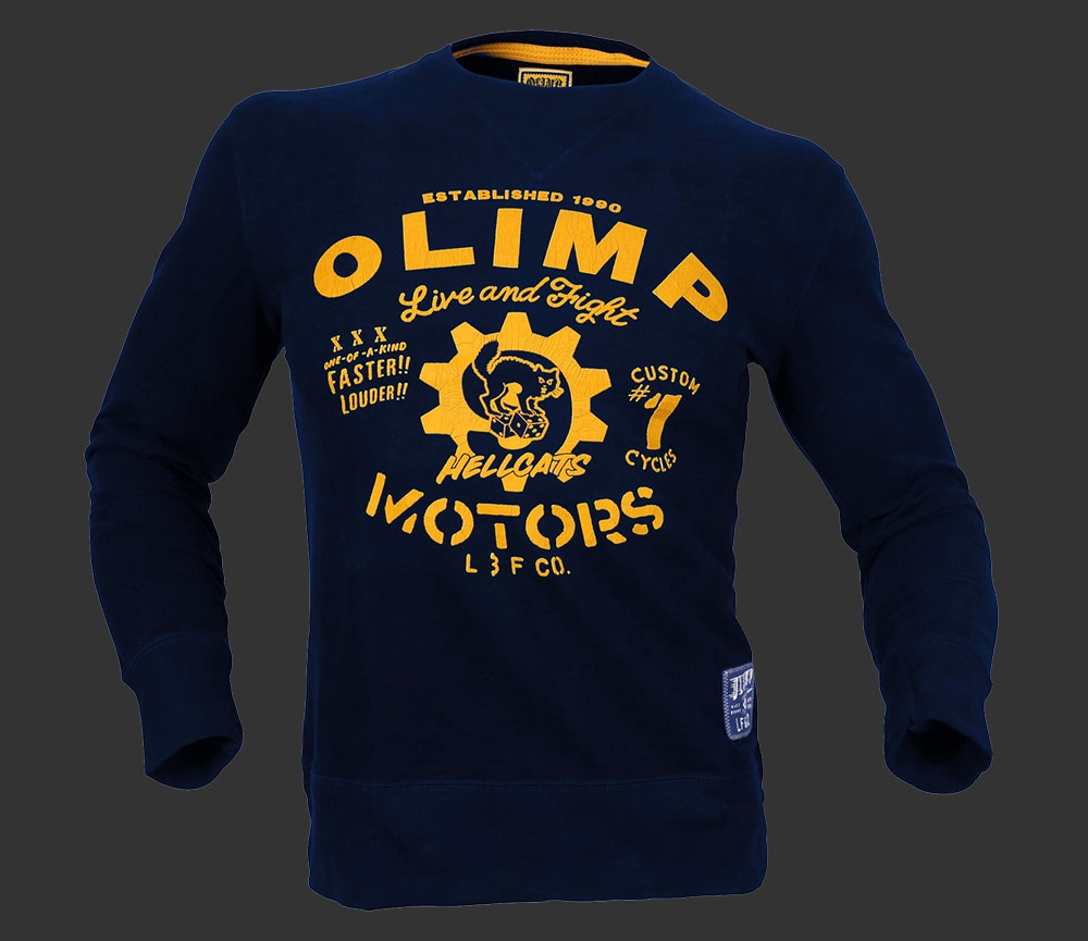 Olimp Полувер мужской HELL CATS CREW NECK FLEECE