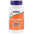 NOW L-Carnitine 500 мг 30 капсул
