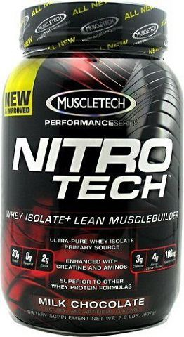 MuscleTech Nitro Tech Performance series 908 грамм