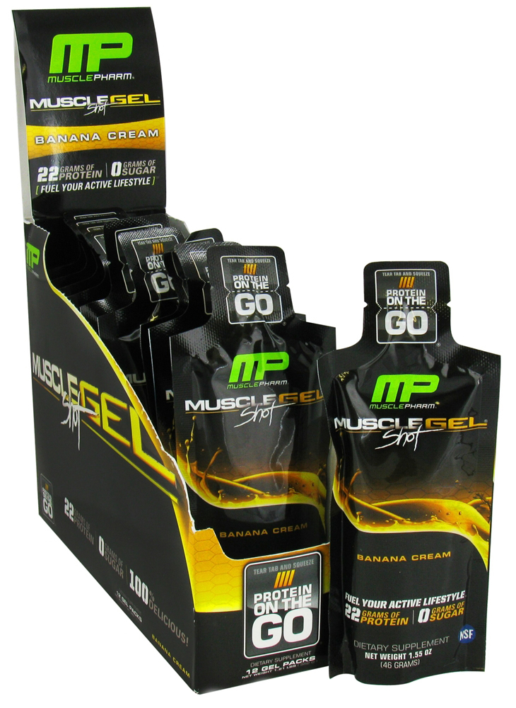 Muscle Pharm MuscleGel KeyLime 12 gels